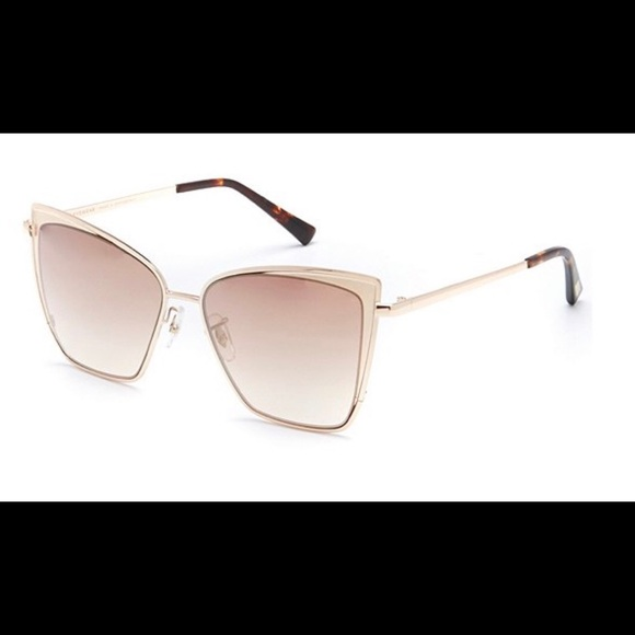 5c916ac57 Diff Eyewear Accessories - DIFF Eyewear: Becky - Designer Cat Eye Sunglasses